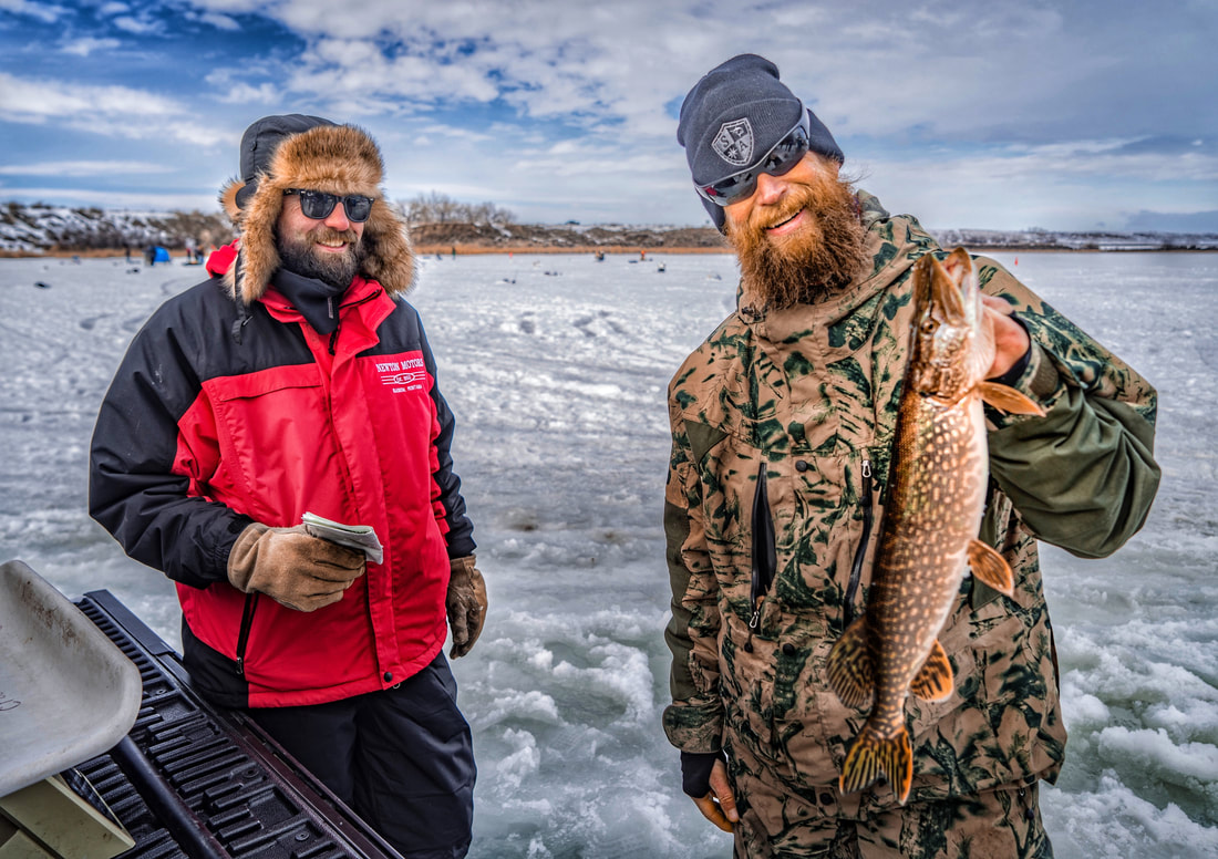 Ice fishing derby for Ice fishing tournament